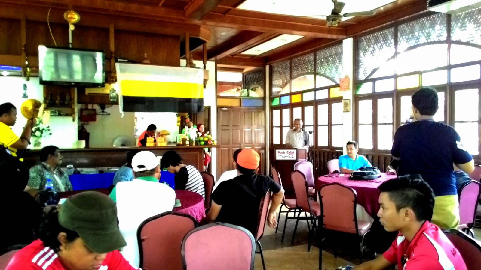 Pasir Salak Eco Resort, Ibrahim Seddiqi Talib