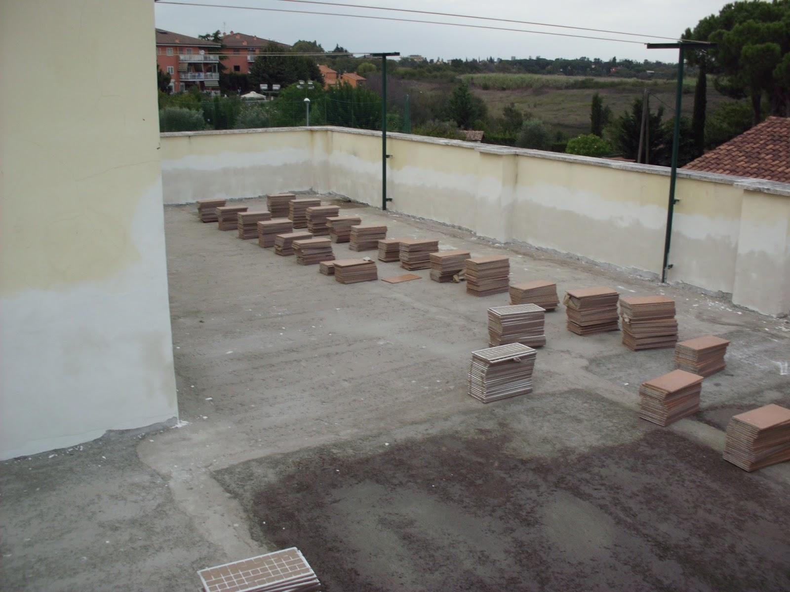 Edilizia roma ristrutturazioni edilizia ro ma s n c - Asciugatura massetto per piastrelle ...