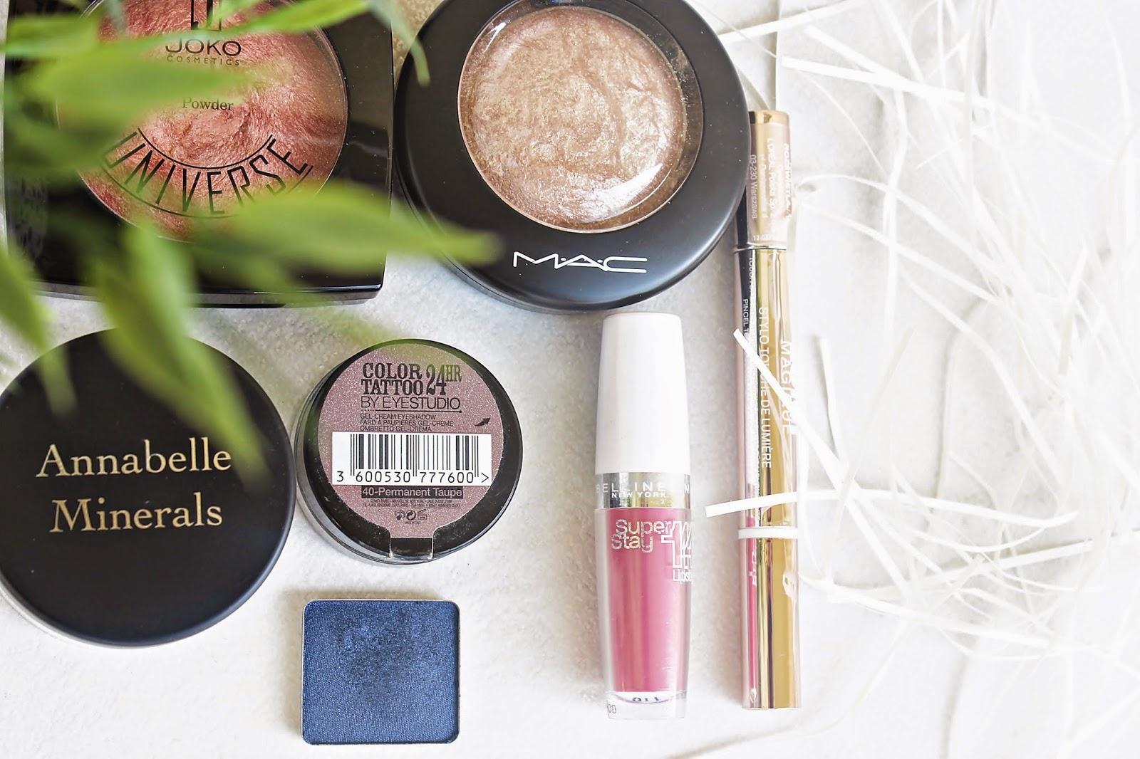 ulubione kosmetyki do makijażu, codzienny makijaż, ulubieńcy
