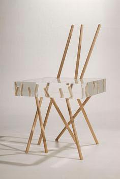 Stick Chair by Emmanuelle Moureaux