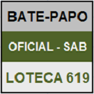 LOTECA 619 - MINI BATE-PAPO OFICIAL DO SÁBADO