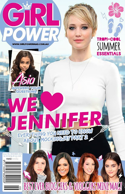 Actress @ Jennifer Lawrence - Girl Power Australia, December 2015