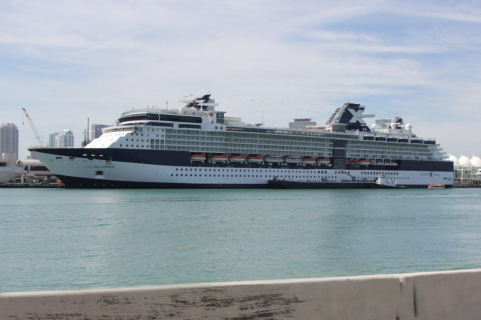 Celebrity x millennium ship current