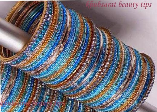 latest blue bangles