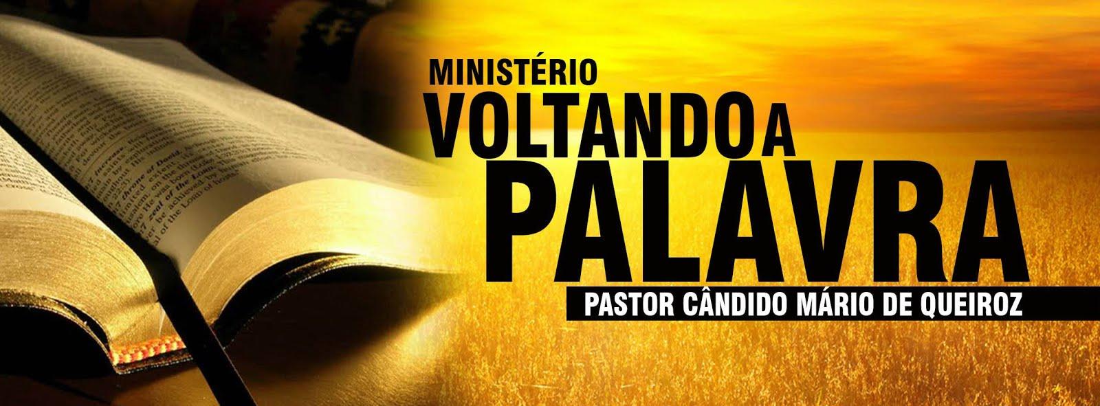 MINISTÉRIO VOLTANDO A PALAVRA