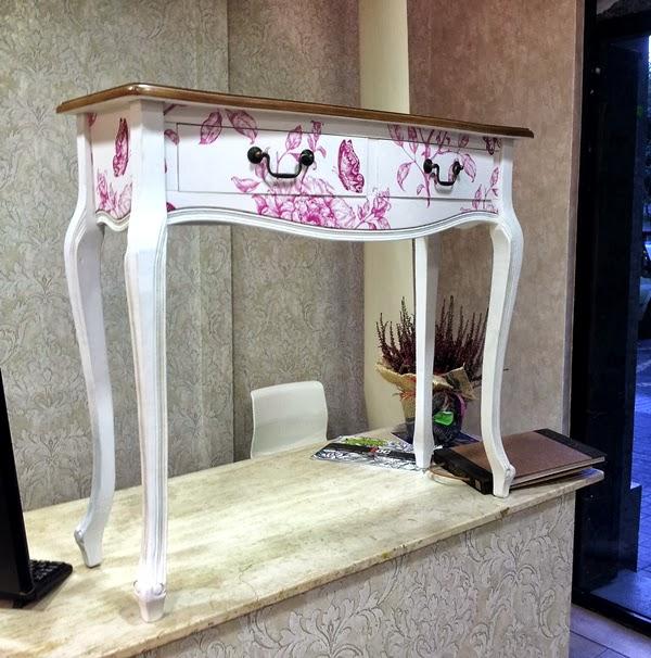 Papel pintado empapelar un mueble con papel pintado - Muebles de papel ...