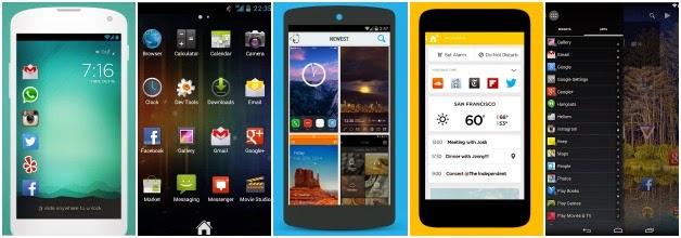 5 ótimas dicas de lançadores para o seu Android! Zeam, Aviate, Themer, Cover e Action Launcher são favorito entre muitos usuários Android