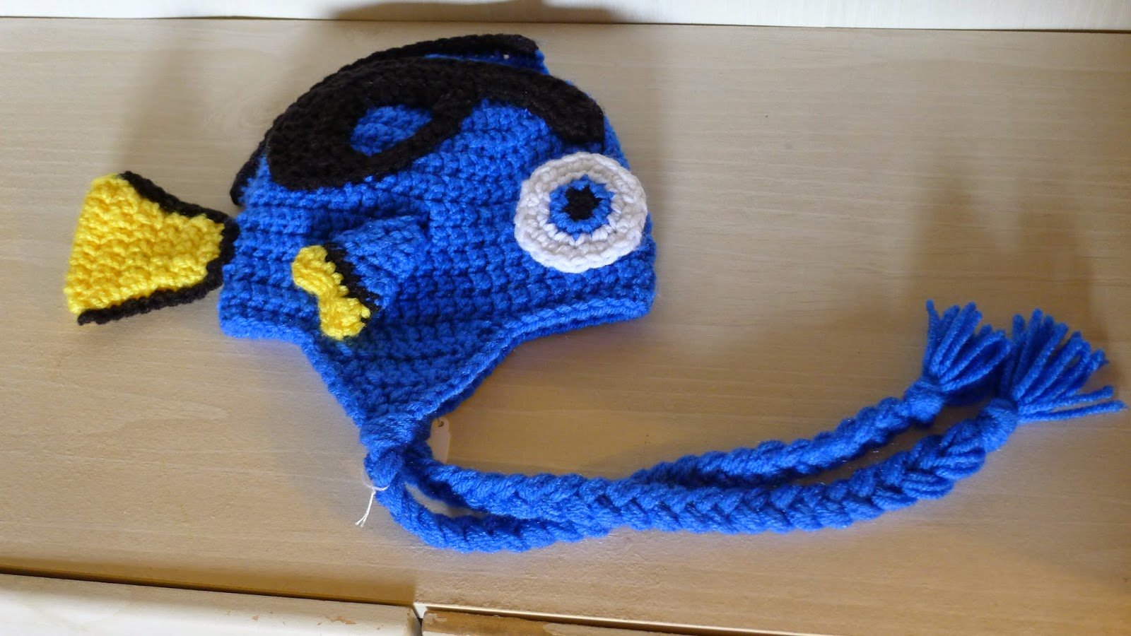 mnopxs2 the blog: Crochet Blue Tang Hat