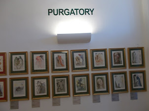"""PURGATORY"" series of paintings by Salvador .Dali."