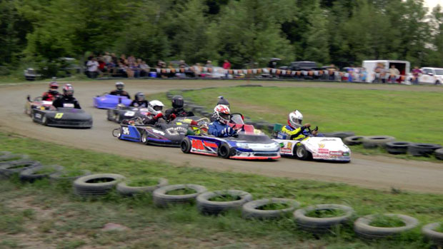 Oval racing stock car style in qu bec ontario and new for Go kart interieur quebec