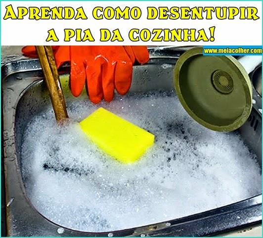 Aprenda+como+desentupir+a+pia+da+cozinha