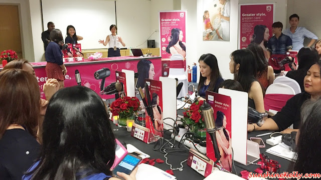 Philips KeraShine, Dryer, Straightener, Heating Styling Brush, Hair Styling Workshop, Hair Devices
