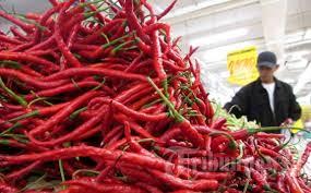 Harga sayur – sayuran di Pasar Induk wilayah Jakarta – Tangerang