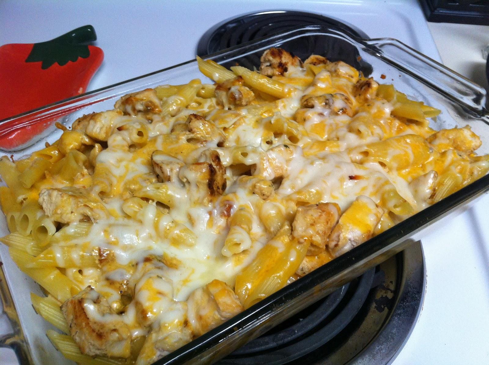The Singing Chef Ranch Chicken Pasta