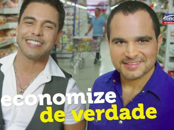 Tenda estreia campanha com Zezé Di Camargo & Luciano