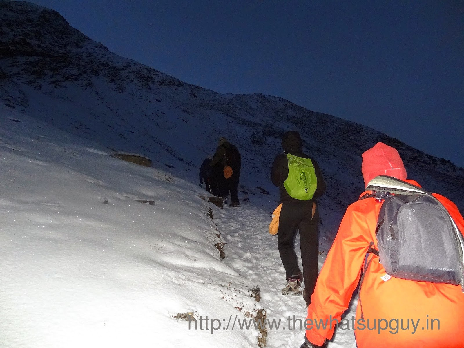 Night Trek Roopkund Trek With India Hikes Day 5