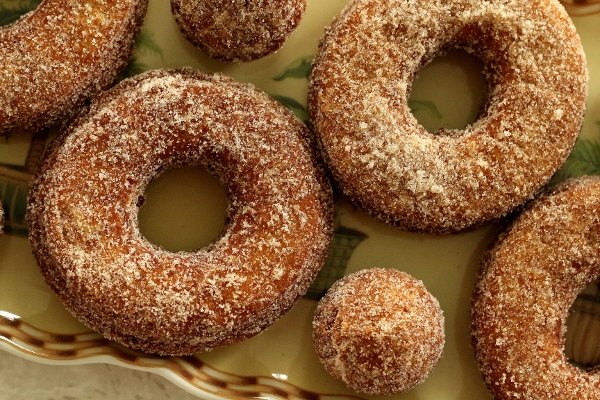 Mission: Food: Glazed, Filled, Sugared & Dipped: Apple Cider Doughnuts