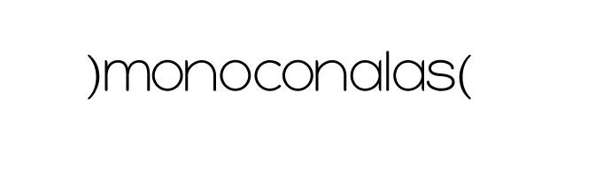 )monoconalas(