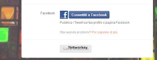 Collegare Facebook Twitter
