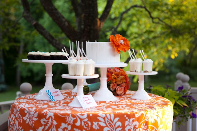 Small Outdoor Dessert Table