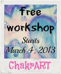 ChakrART FREE Workshop will be open for one whole year. So, come on! Join us anytime!