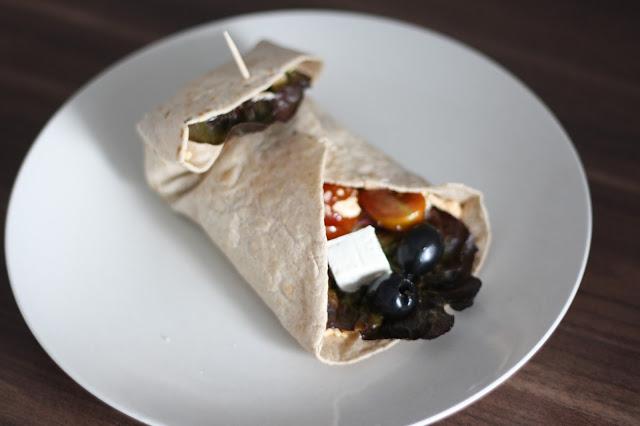 Hummus Rezept Wrap