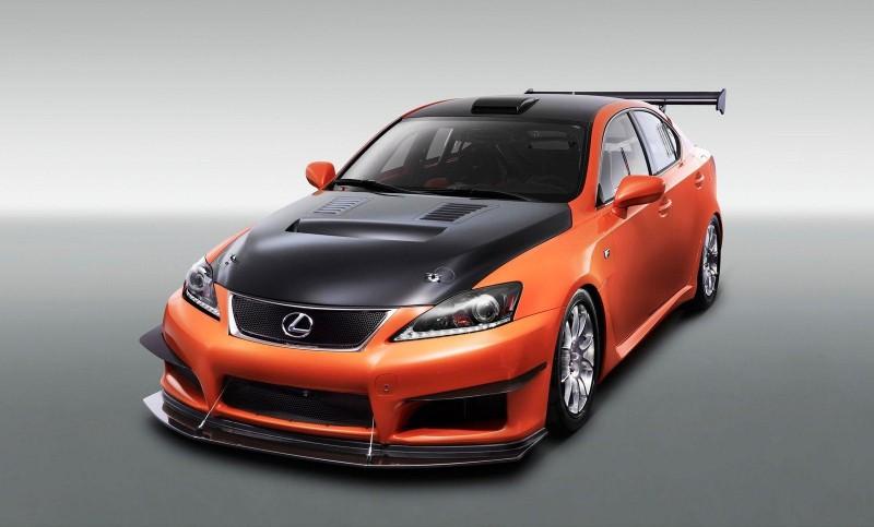Lexus at Tokyo Auto Salon 2011