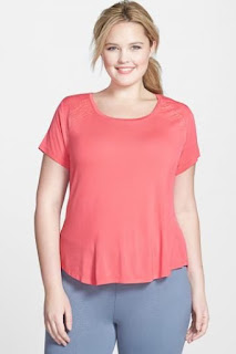 MARIKA CURVES Short Sleeve Tee (Plus Size)