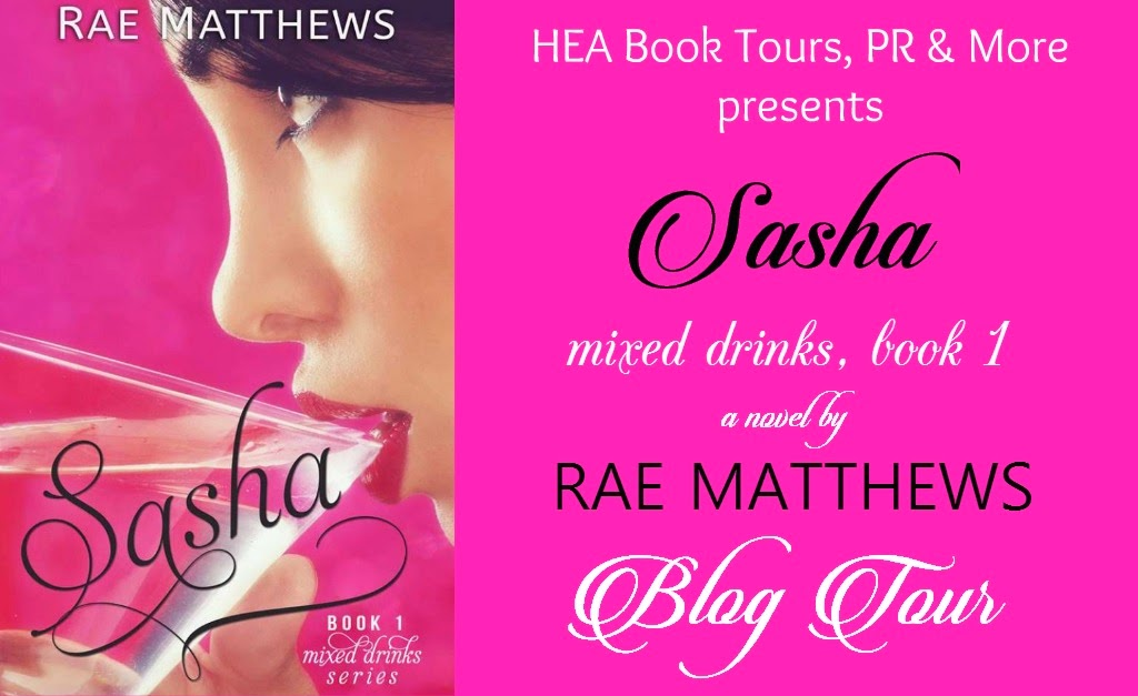 SASHA by Rae Matthews- Blog Tour, Review & Giveaway