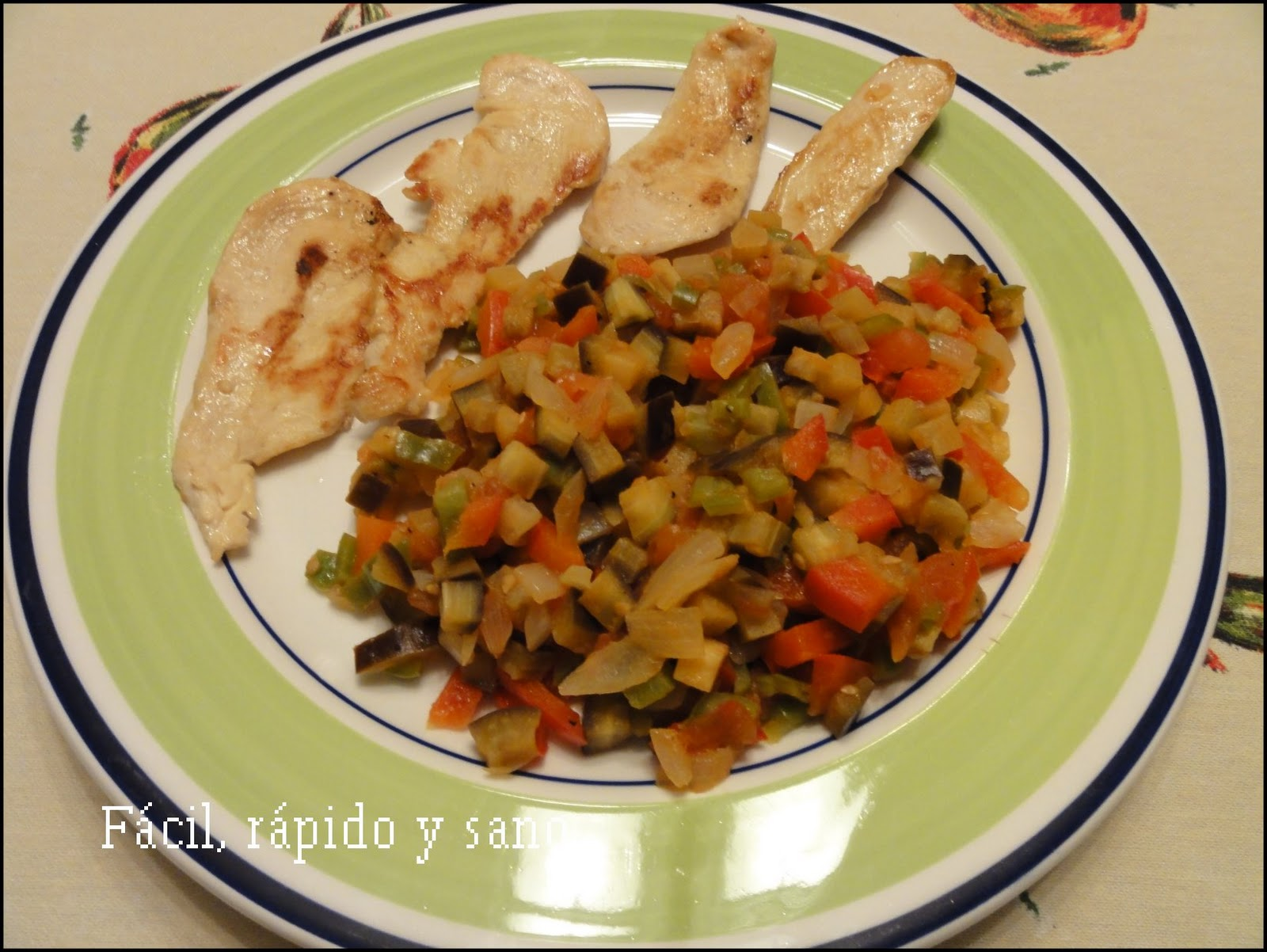 F cil r pido y sano cocina para gente sin tiempo comida for Platos rapidos de cocinar