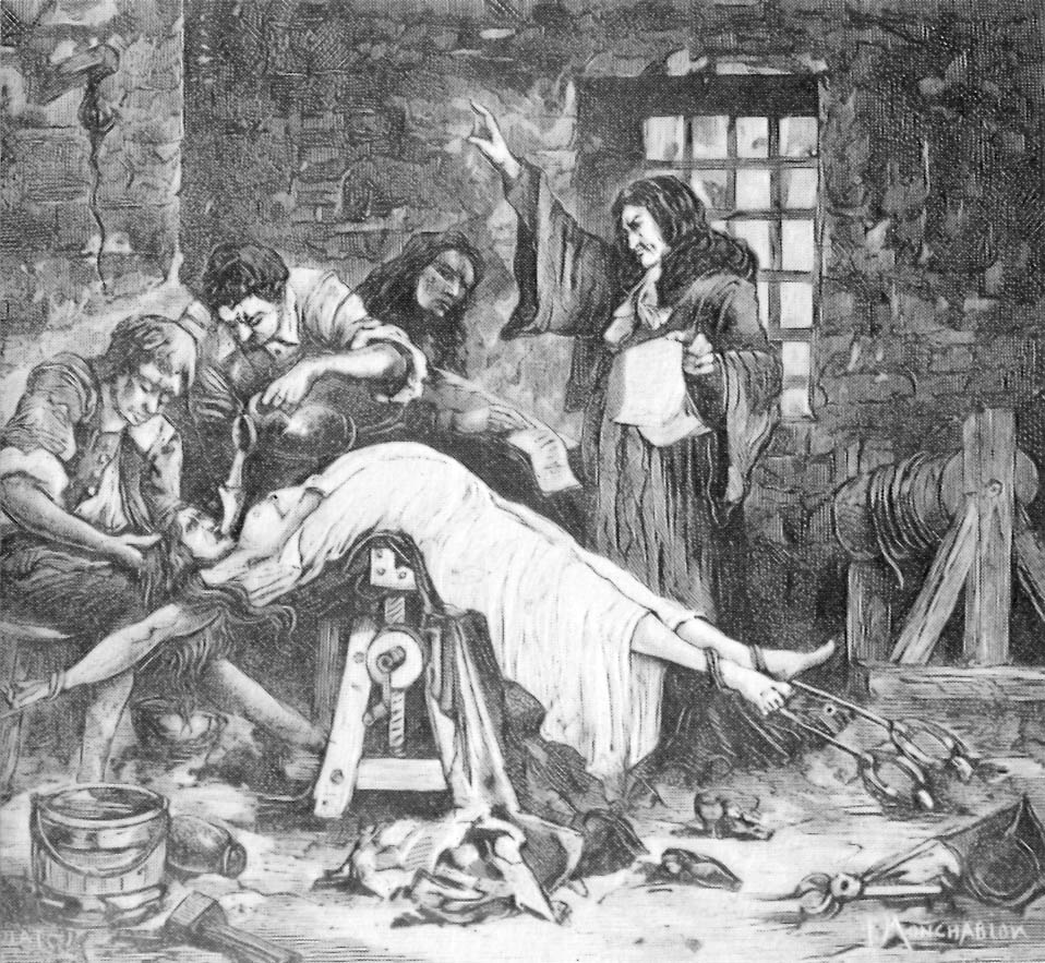 middelalder torturinstrumenter