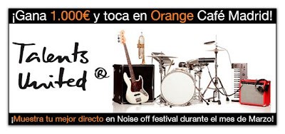 ¡Gana 1.000€ y toca en Orange Café Madrid!