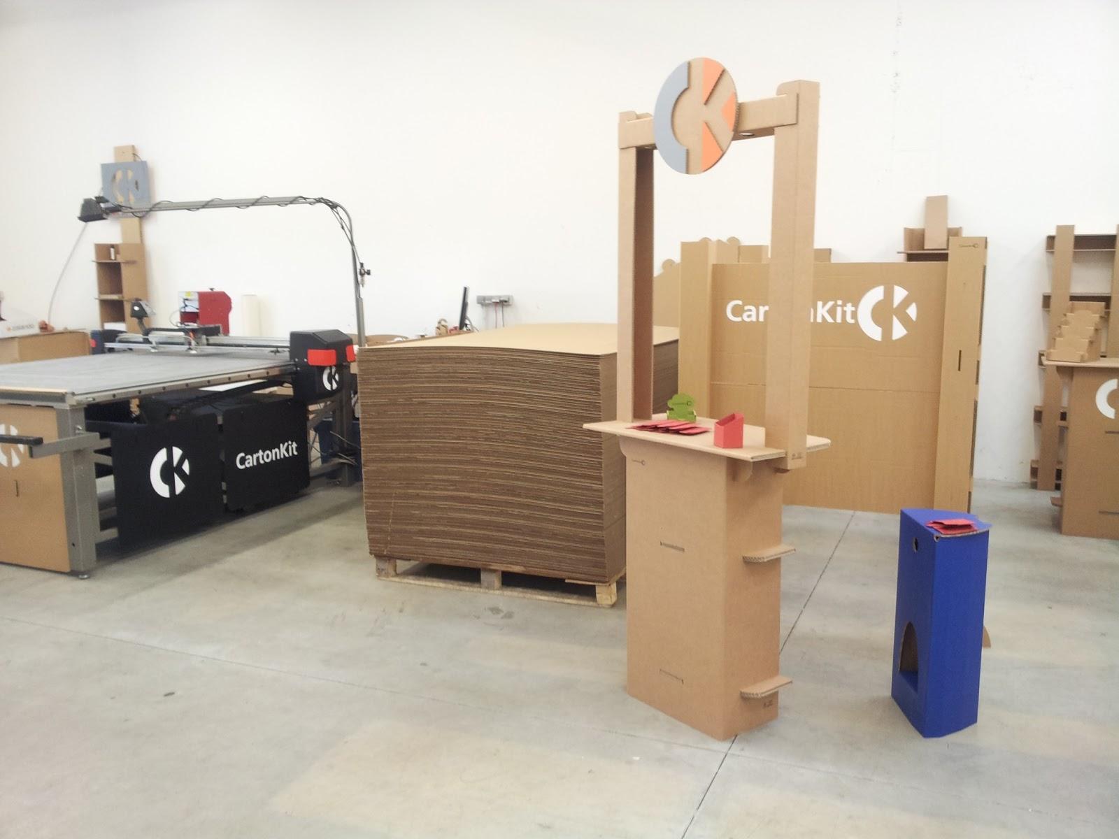 Carton kit cr ations objets et meubles 100 carton accueil - Meuble en carton prix ...