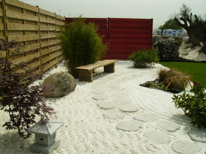C mo hacer un jard n zen taringa - Plantas para jardin japones ...