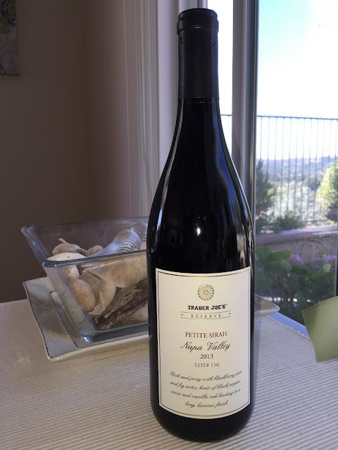 Review: ***+ $ Trader Joe's Lot 116 Reserve Petite Sirah, Napa Valley, California, 2013 = BEST VALUE