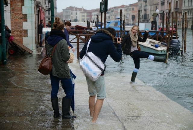 Acqua Alta A Venezia 27 Ottobre 2012