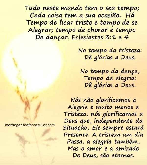 Mensagem de Otimismo Partes Da Biblia