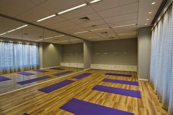 espaço para relaxar no novo escritório do Twitter no Brasil