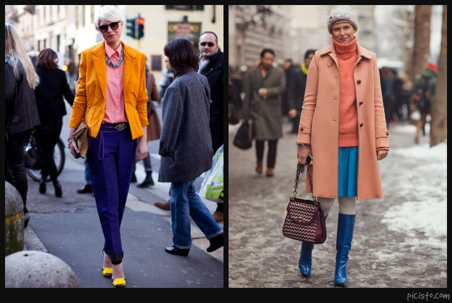 Elisa Nalin Colorful Style