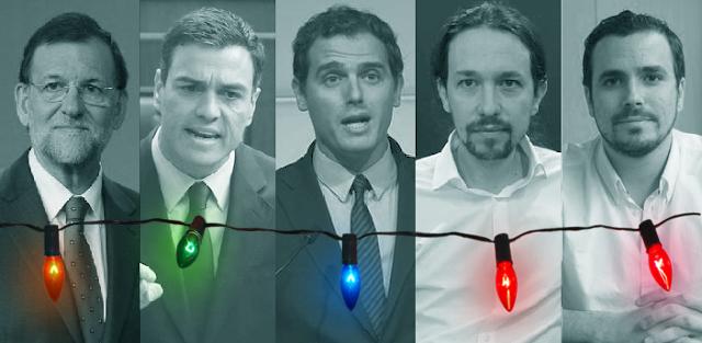 Mensajes de año nuevo de los principales líderes políticos