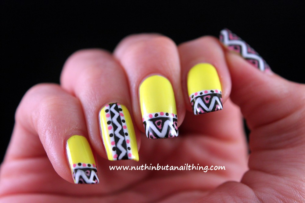 nuthin\' but a nail thing: Barry M - Neon Yellow and Neon Green