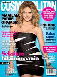 Heidi Klum Magazine Cover Pictures