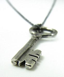 """""""Cri-Key"""" Silver Pendant."""