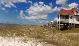 Strand und Ferienhaus Mexico Beach, Florida USA