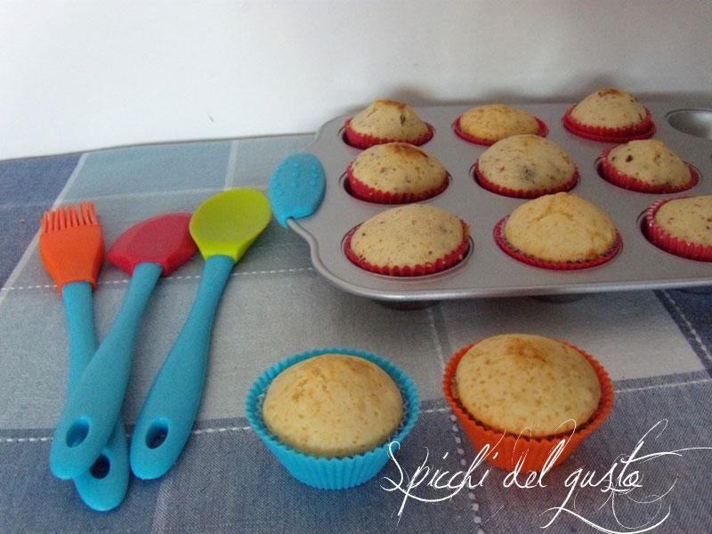 Spicchi del gusto muffin al cioccolato con i piccoli di casa for Piccoli piani di casa con torrette
