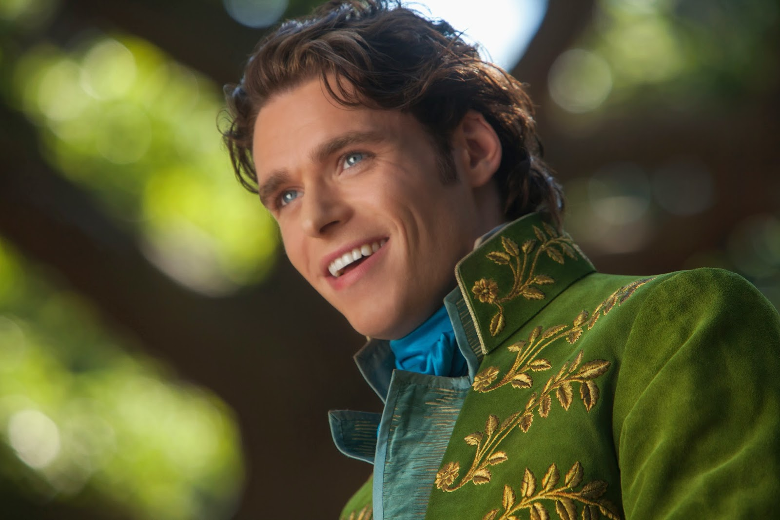 Richard Madden as the prince in Disney's Cinderella