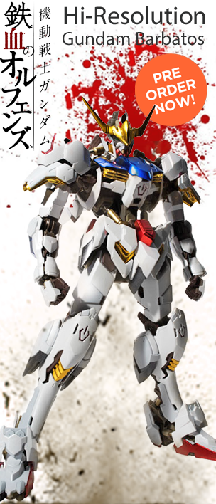 HI-RESOLUTION GUNDAM BARBATOS