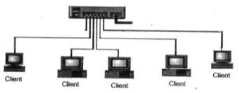 Gambar 1.12 Jaringan peer to peer.