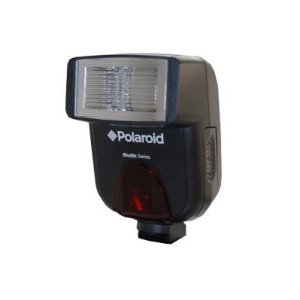 Polaroid PL-108AF Studio Series Digital Auto Focus / TTL Shoe Mount Flash For The Sony Alpha DSLR A100, A200, A230, A290, A300, A330, SLT-A33, A350, A380, A390, A450, A500, A560, SLT-A55, A550, A700, A850, A900 &amp; Minolta Maxxum Digital SLR Cameras-Polaroid