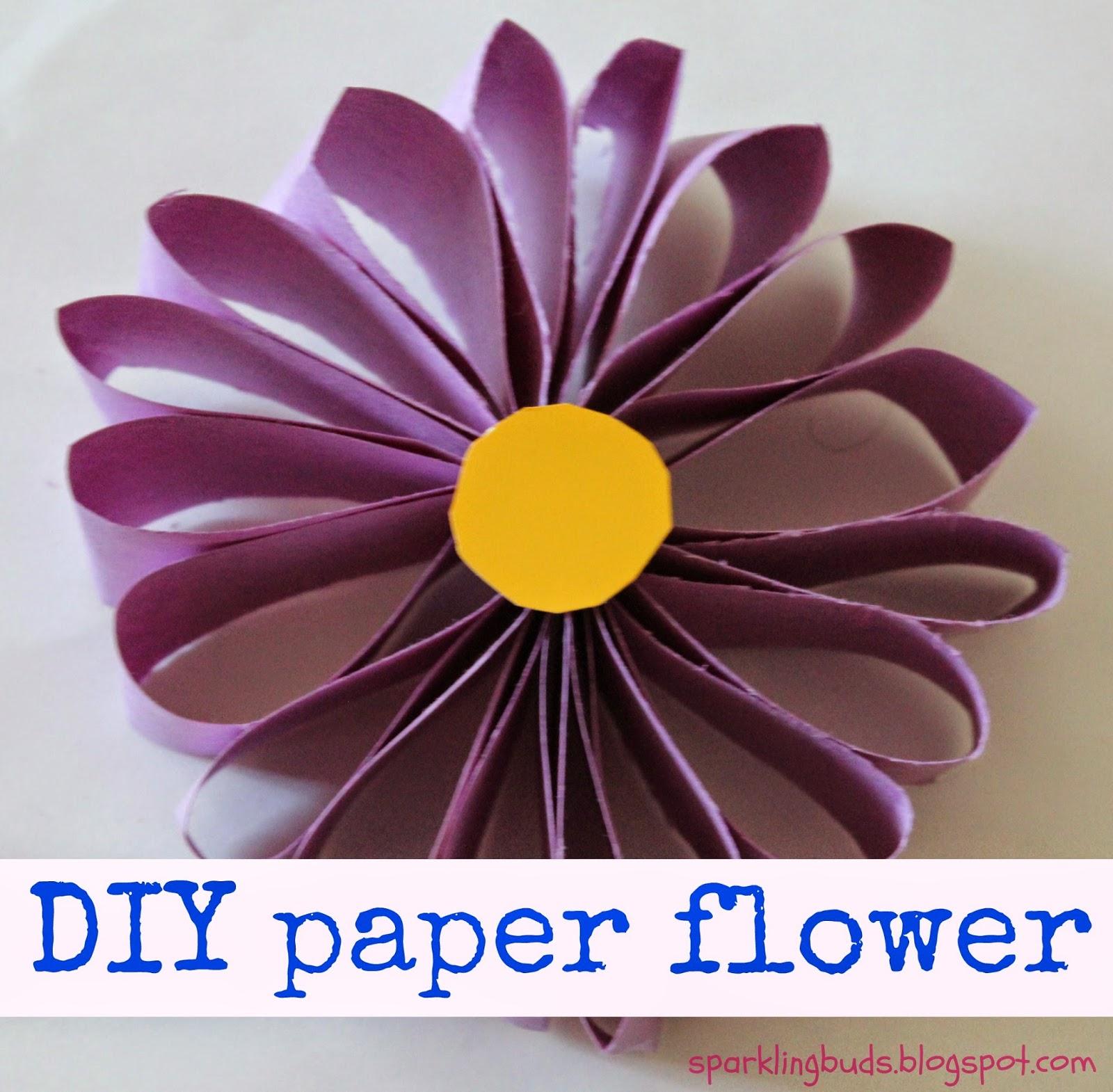 Flower Craft Ideas Construction Paper